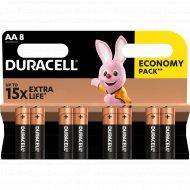 Комплект батареек «Duracell» Basic LR6-8BL MN1500, 8 шт