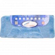 Набор ковриков для ванной комнаты, 60x100+60x50 см, голубой.