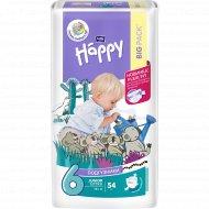 Подгузники для детей «Bella Baby Happy» junior extra 16+ кг, 54 шт.