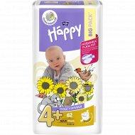 Подгузники для детей «Bella Baby Happy» maxi plus 9-20 кг, 62 шт.