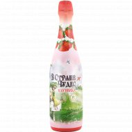 Напиток безалкогольный «В стране чудес» с ароматом клубники, 0.75 л