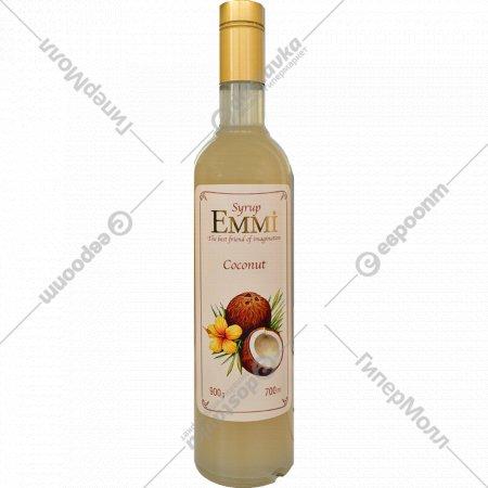 Сироп «Emmi» со вкусом кокоса, 0.7 л.