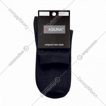 Носки мужские «Vasilina» 6с4124, черные.