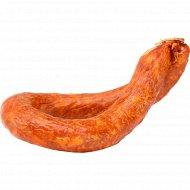 Колбаса полукопченая «Панская» высшего сорта, 1 кг., фасовка 0.4-0.6 кг