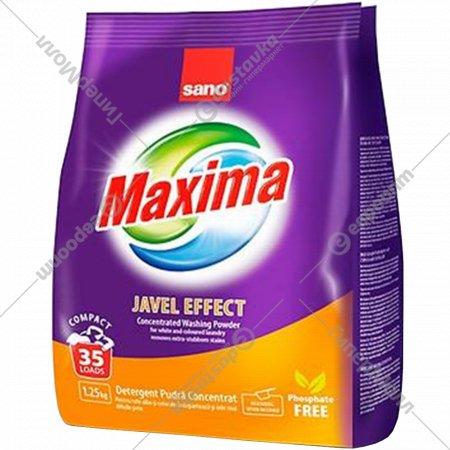 Стиральный порошок «Sano» Maxima Javel Effect, 1.25 кг