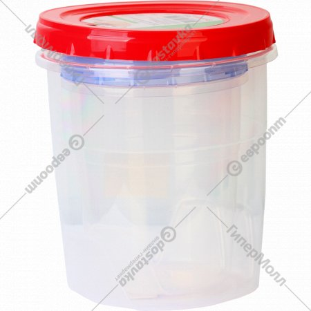 Банка для хранения продуктов, 0.6+1.3 л, 2 шт.