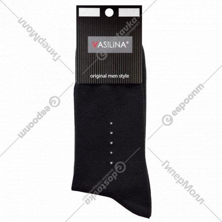 Носки мужские «Vasilina» 6с3136, черные.