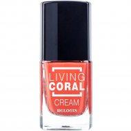 Лак для ногтей «Living Coral» тон 3, cream, 11.5 мл.