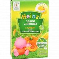 Каша пшенично-кукурузная «Heinz» с тыквой, 200 г.