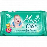 Влажные салфетки для детей «Meggi Care» 80 шт.