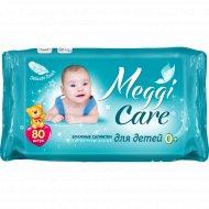 Влажные салфетки для детей «Meggi Care» 0+, 80 шт.