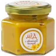 Мёд натуральный с пыльцой, 150 г.