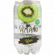 Напиток газированный «Aziano» со вкусом киви, 350 мл.