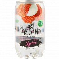 Напиток газированный «Aziano» Lychee 0.350 л.