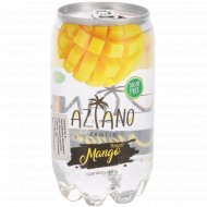 Напиток газированный «Aziano» Mango 0.350 л.