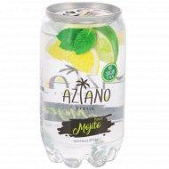 Напиток газированный «Aziano» Mojito 0.350 л.