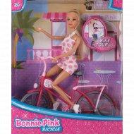 Кукла на велосипеде «Bonnie Рink»