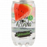 Напиток газированный «Aziano» Watermelon 0.350 л.