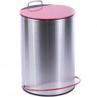 Ведро для мусора металлическое с педалью 5 л.