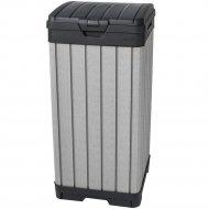Контейнер «Keter» для мусора уличный Rockford BIN 125L черный/серебрo