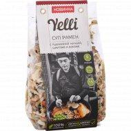 Суп рамен «Yelli» с пшеничной лапшой шиитаке и вакаме, 110 г