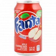 Напиток газированный «Fanta» яблоко, 0.355 л.