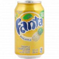 Напиток газированный «Fanta» ананас, 0.355 л.