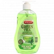 Средство для мытья посуды «Unicum» зеленый чай, 550 мл.