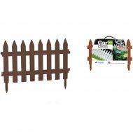 Изгородь декоративная «Prosperplast» Garden Classic, коричневый