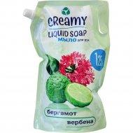 Жидкое крем-мыло «Creamy» Бергамот и Веребена, 1250 мл