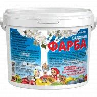 Краска садовая «Экосил» водно-дисперсионная, 1 кг.