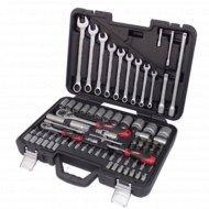 Универсальный набор инструментов «Stab» 1/4 и 1/2 82 предмета.