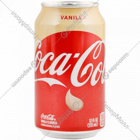 Напиток газированный «Coca-Cola» Vanilla, 0.355 л.