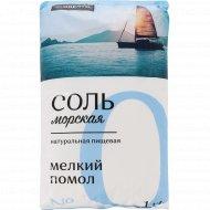Соль морская пищевая «Florento» мелкая, 1 кг.