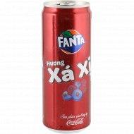 Напиток газированный «Fanta» XaXi, Лесные ягоды, 0.33 л.