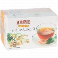 Чай черный «Белтея» с ромашкой, 24 г.