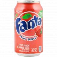 Напиток газированный «Fanta» фруктовый пунш, 0.355 л.