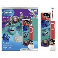 Электрическая зубная щетка «Oral-BG» Kids 3+, чехол для хранения