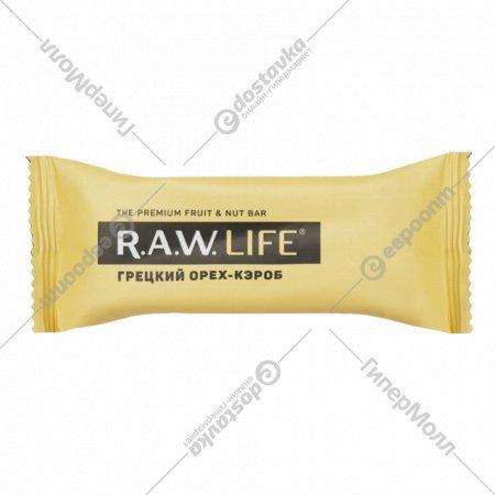 Батончик «R.A.W. Life» грецкий орех-кэроб, 47 г.