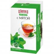Чай черный «Белтея» с мятой, 24 г.
