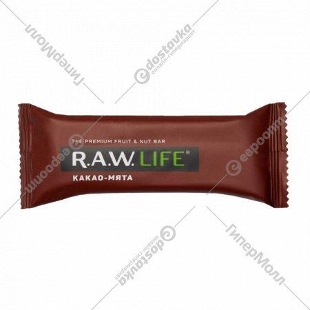 Батончик «R.A.W. Life» какао-мята, 47 г.