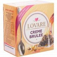Чай черный «Lovare» Creme Brulee, 24 г.