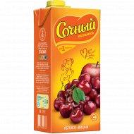 Напиток «Сочный витамин» яблочно - вишневый 1.95 л.