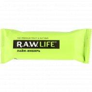 Батончик «R.A.W. Life» лайм-имбирь, 47 г.