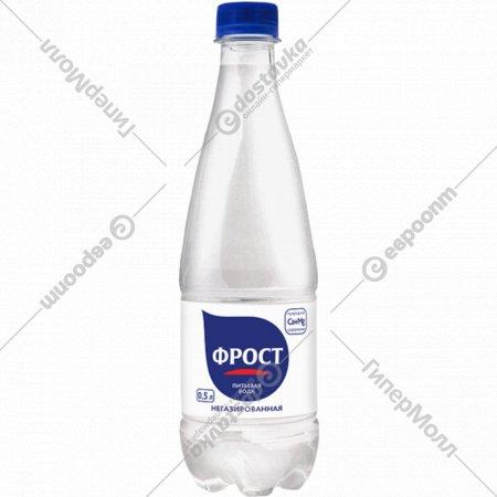 Вода питьевая «Frost» негазированная 0.5 л.