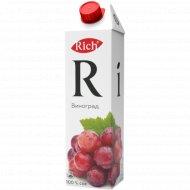 Сок «Rich» виноградный 1 л.