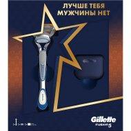 Подарочный набор «Gillette» бритва Fusion, чехол