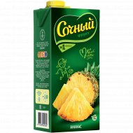 Нектар «Сочный фрукт» ананас 1.95 л.