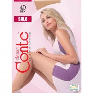 Колготки женские «Conte» Solo, 40 den, размер 6, grafit