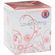 Женская парфюмированная вода «Love Exulting» 100 мл.